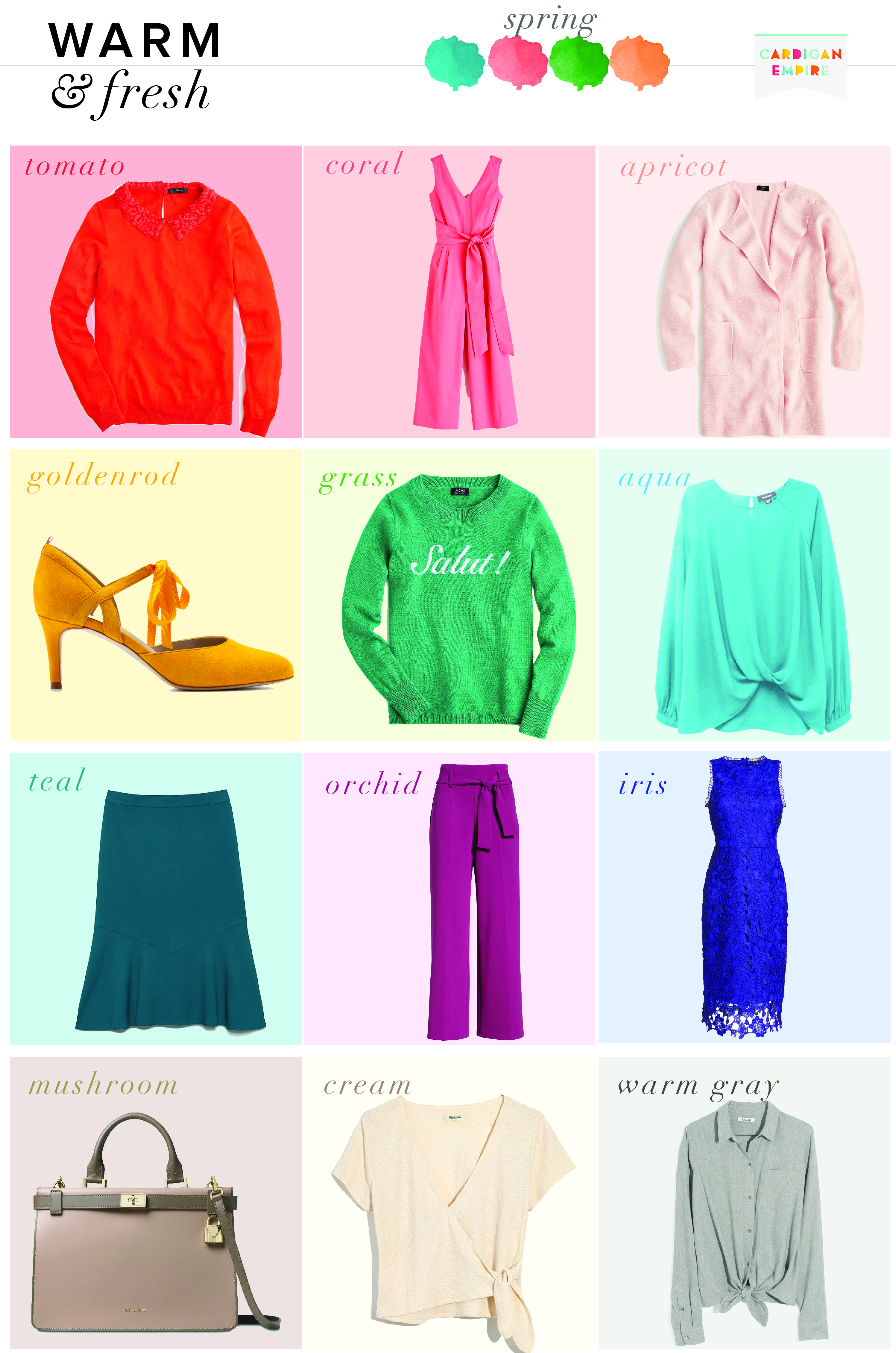 3a01f8c528019 So what should you wear? Below are some of my favorite ideas for mixing and  matching a warm and fresh capsule wardrobe.