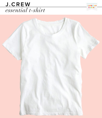 J.Crew Essential T-Shirt in White