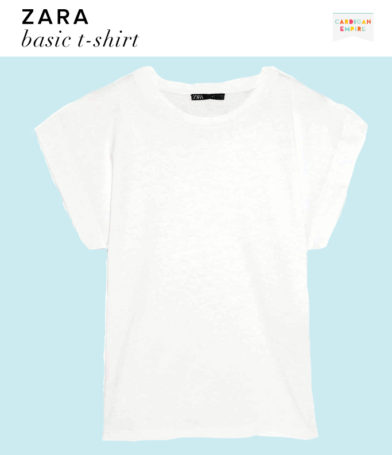 Zara Basic White T-Shirt
